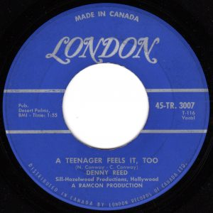 A Teenager Feels It Too by Denny Reed