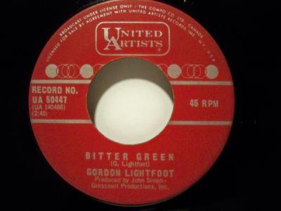 Bitter Green by Gordon Lightfoot