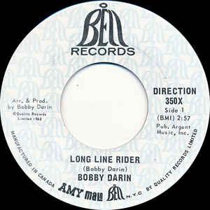 Long Line Rider by Bobby Darin