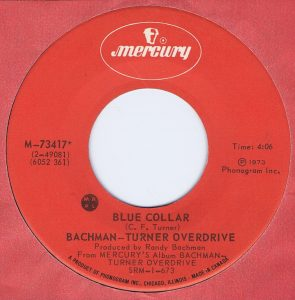 Blue Collar by Bachman-Turner Overdrive