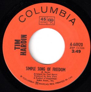 Simple Song Of Freedom by Tim Hardin