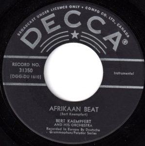 Afrikaan Beat by Bert Kaempfert – Vancouver Pop Music Signature