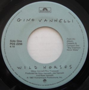 Wild Horses by Gino Vanelli