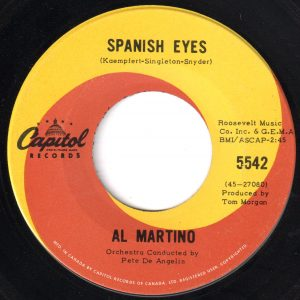 Spanish Eyes by Al Martino