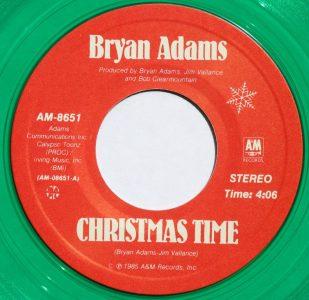 Christmas Time by Bryan Adams