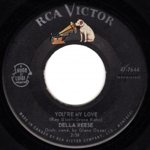 You're My Love by Della Reese