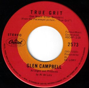 True Grit by Glen Campbell