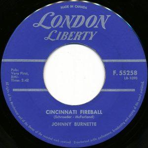 Cincinnati Fireball by Johnny Burnette