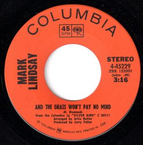 And The Grass Won't Pay No Mind by Mark Lindsay