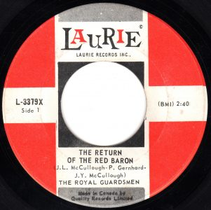 The Return Of The Red Baron by The Royal Guardsmen