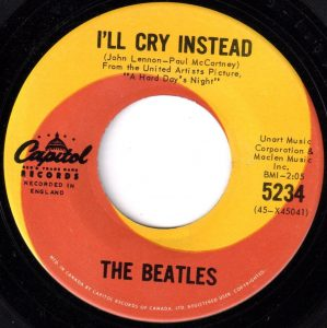 I'll Cry Instead by The Beatles