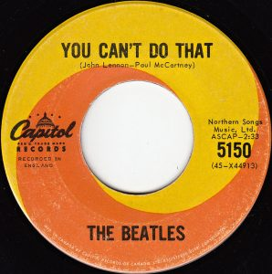 You Can't Do That by The Beatles