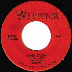Sand Storm by Johnny & The Hurricanes