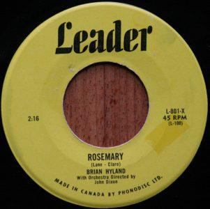 Rosemary by Brian Hyland